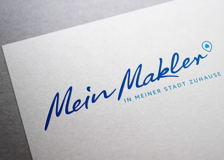 Bild vom Logo an der Mein Makler Filiale in Heisingen