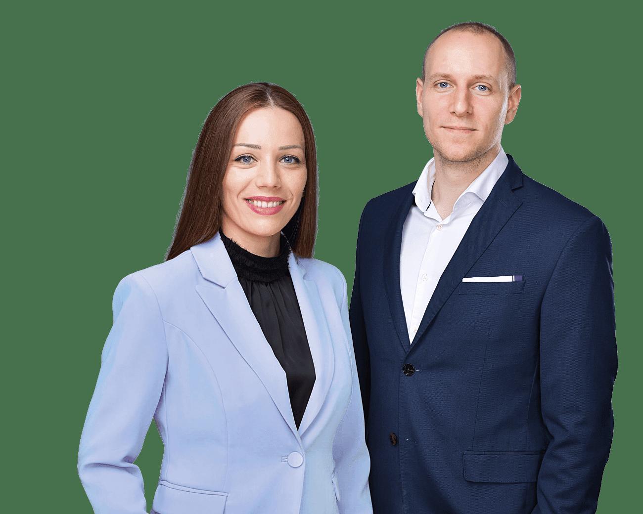 Immobilienmakler in Berlin Spandau Nikolina Petkovic und Sebastian Kiergaßner