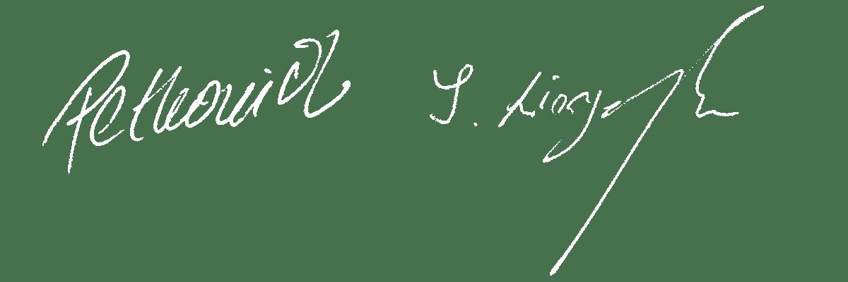 Unterschrift Norbert Milsom van de Löcht, Immobilienmakler in Glandorf