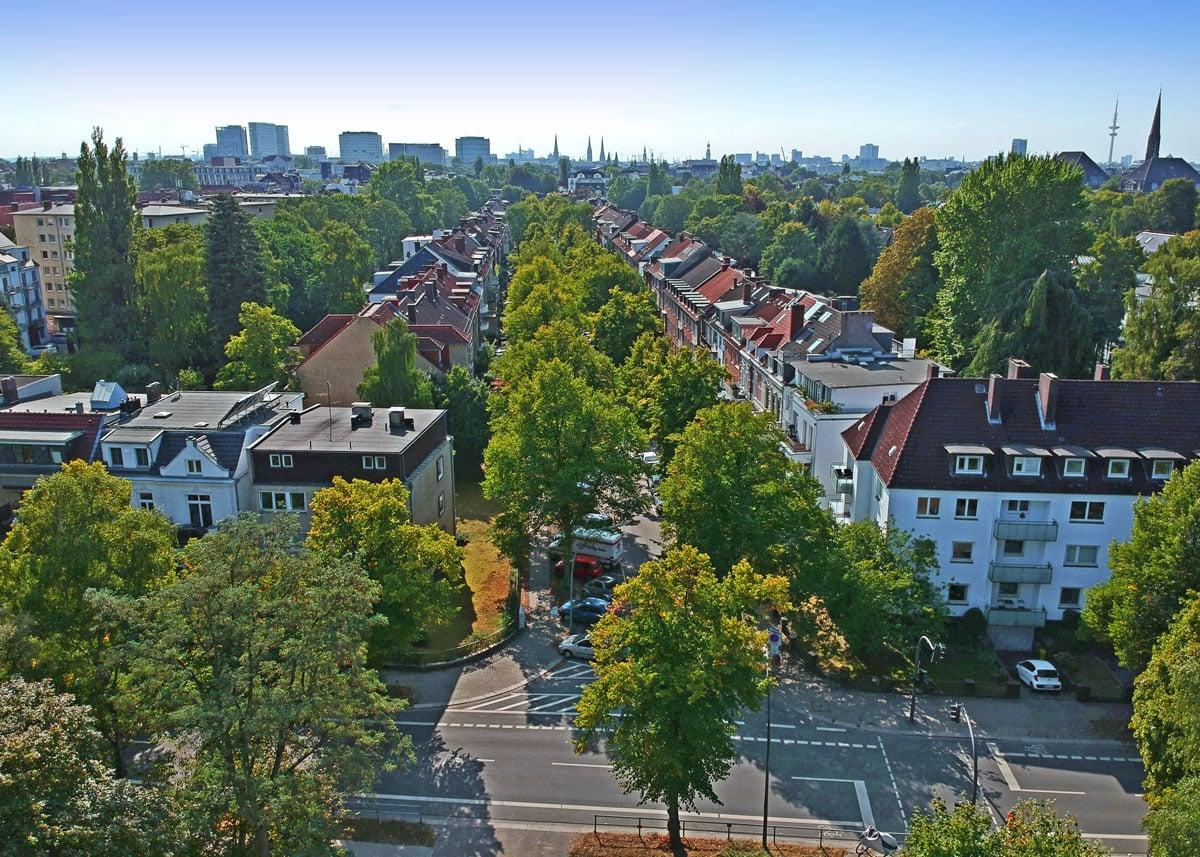 Hamburg Wohnsituation im Stadtteil