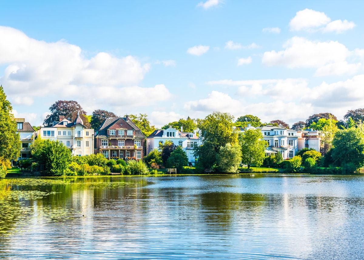 Hamburg - Immobilien mit Seeblick