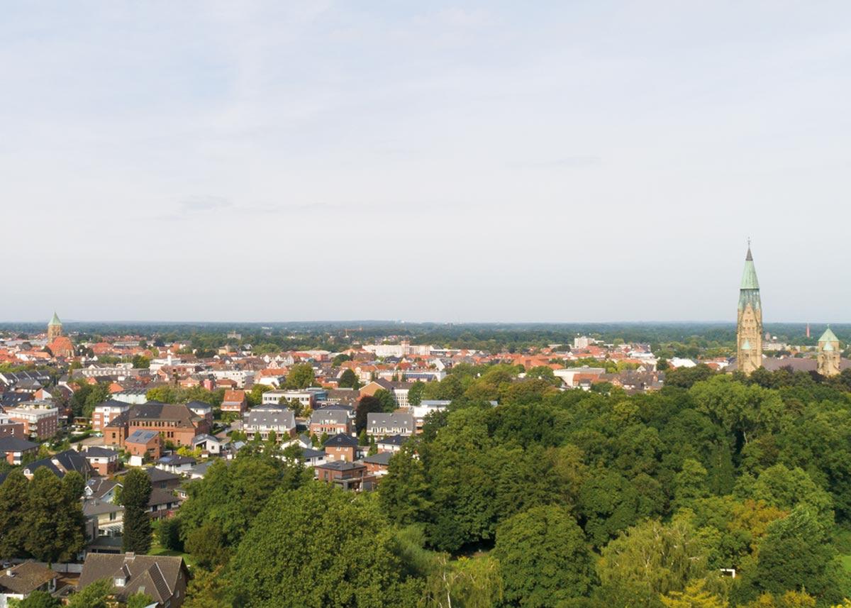 Rheine Luftbild